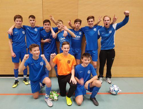 Turniersieg der U15/1 in Gilching